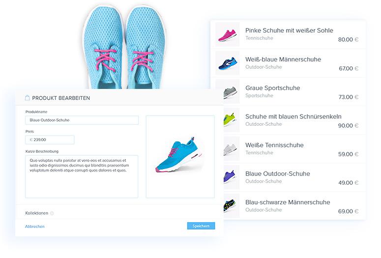 Online Shop Webnode